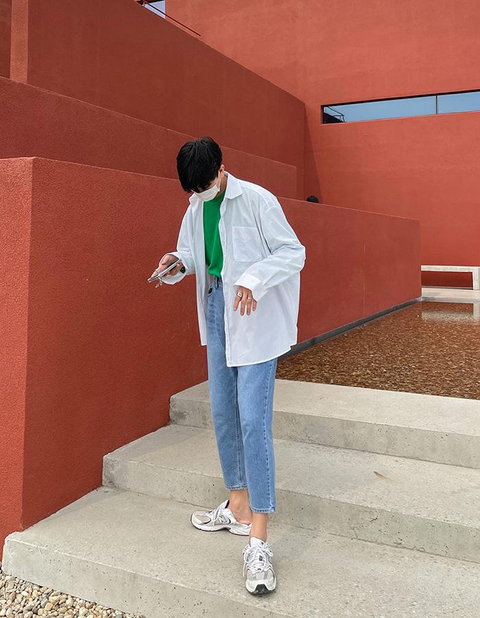 애즈클로 그랜마더 셔츠 (2color)