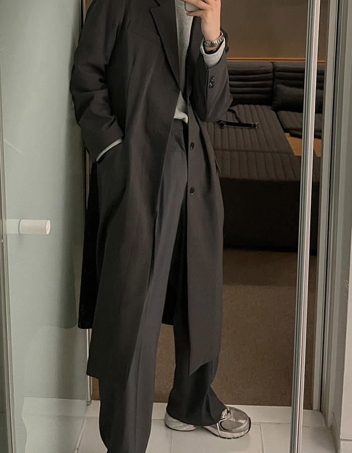 플에디 로네 스탠다드 코트 (2color)