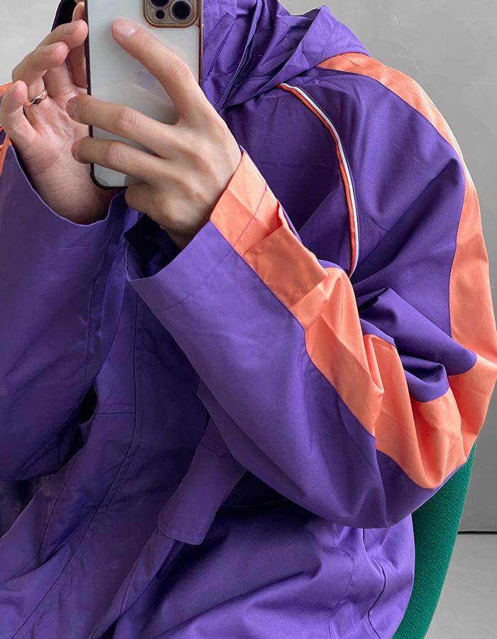 발렌 바람막이자켓 (4color)