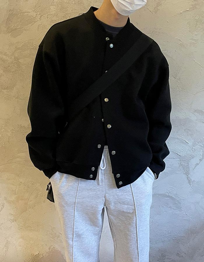 애즈클로 이중지 스타디움 자켓 (3color)