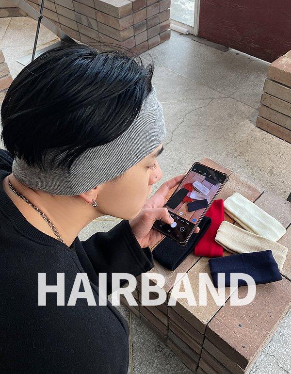 No.8630 short & long hairband (6color)