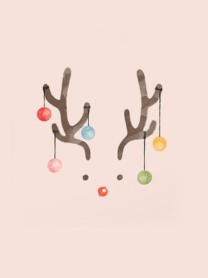 자체제작/크리스마스컷트지] 사슴트리 (154774)