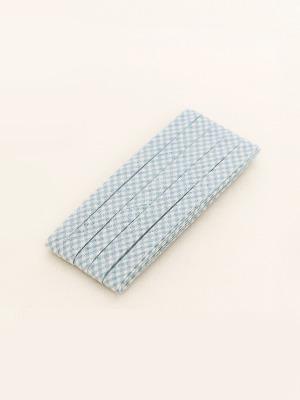 85-658 빈티지파스텔 바이어스테이프 10mm_스카이 체크 (164281)