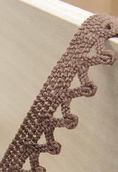 토숀레이스/1.1cm ]작은뾰족이(갈색)