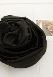 안감/공단]보드레(비비드라인-204)(블랙) (12880)