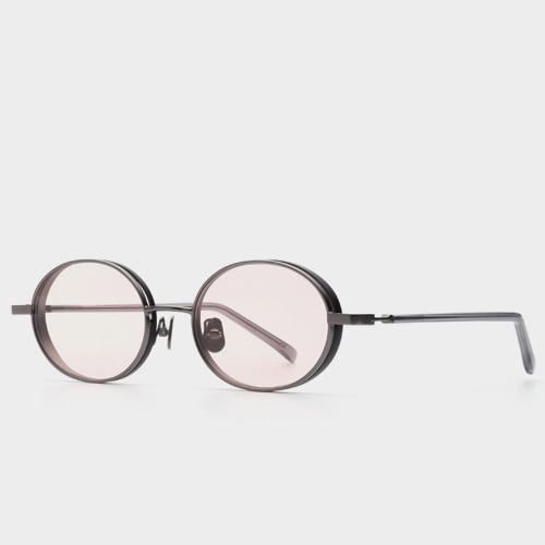 [뮤지크선글라스] M90S Track GR B (Pink Tint Lens) 핑크틴트렌즈 (MUZIK X MINA KWON) / (송민호, 김충재 착용)