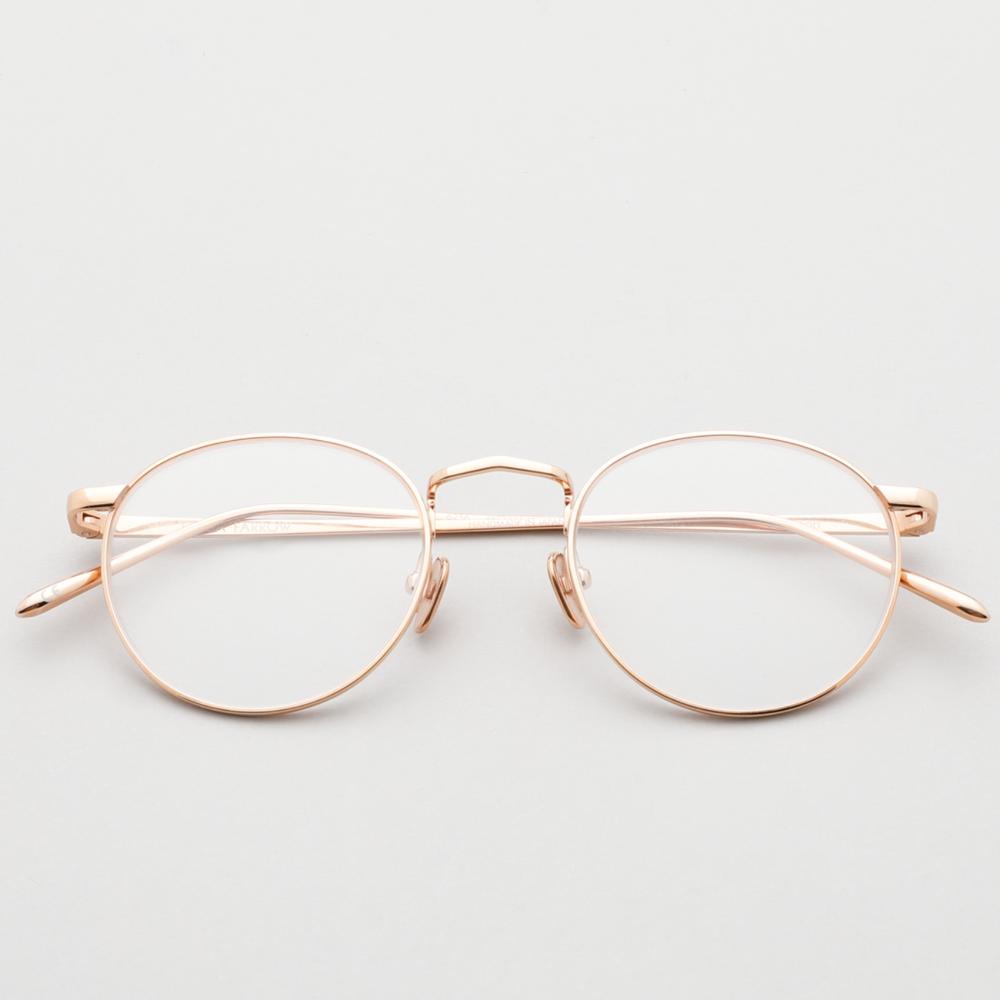 린다페로우안경 브로슨 Broson LFL1044 3 가벼운 메탈 미씽 고수 안경