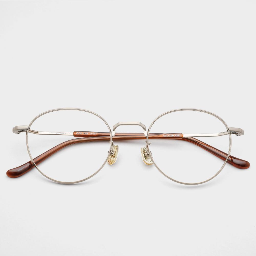 옐로우비 안경 OM008 COL03 YELLOW BE 베타티타늄 안경테