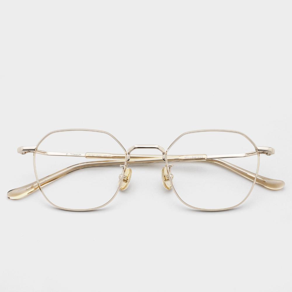 옐로우비 안경 OM006 COL02 YELLOW BE 베타티타늄 안경테