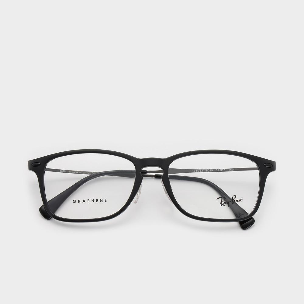 레이벤 안경 RB8953 8025 54사이즈 RAY-BAN 리퍼브상품 SALE