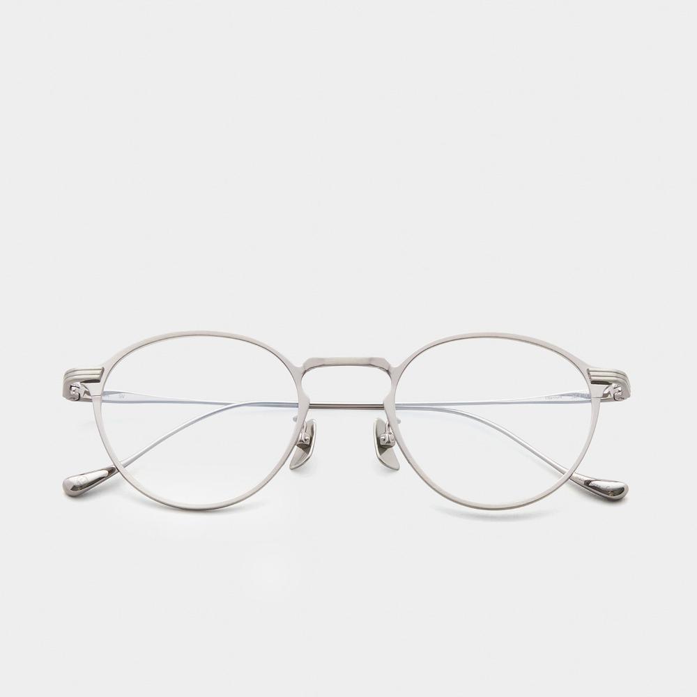어크루 안경 믹 SV 원형 메탈 티타늄 안경테