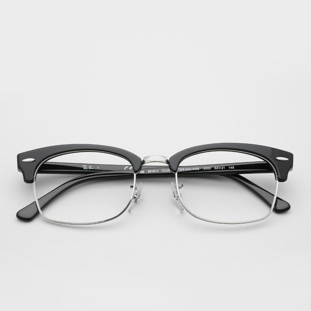 레이벤 안경 클럽마스터 스퀘어 RB3916VF CLUBMASTER SQUARE 2000 55사이즈 Ray-Ban
