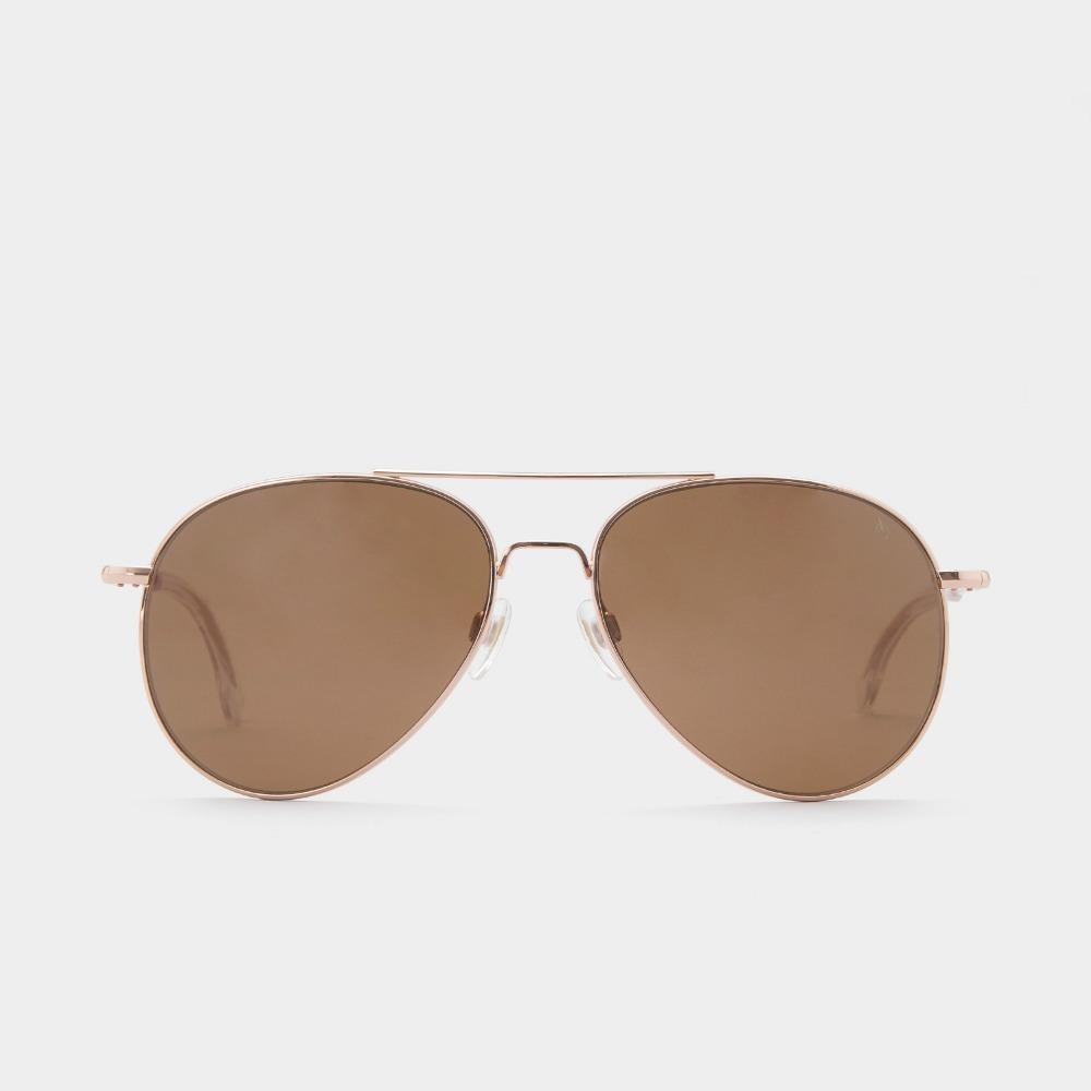 아메리칸옵티컬 선글라스 제너럴 General ROSE GOLD (Brown Lens) (58) American Optical 예약중