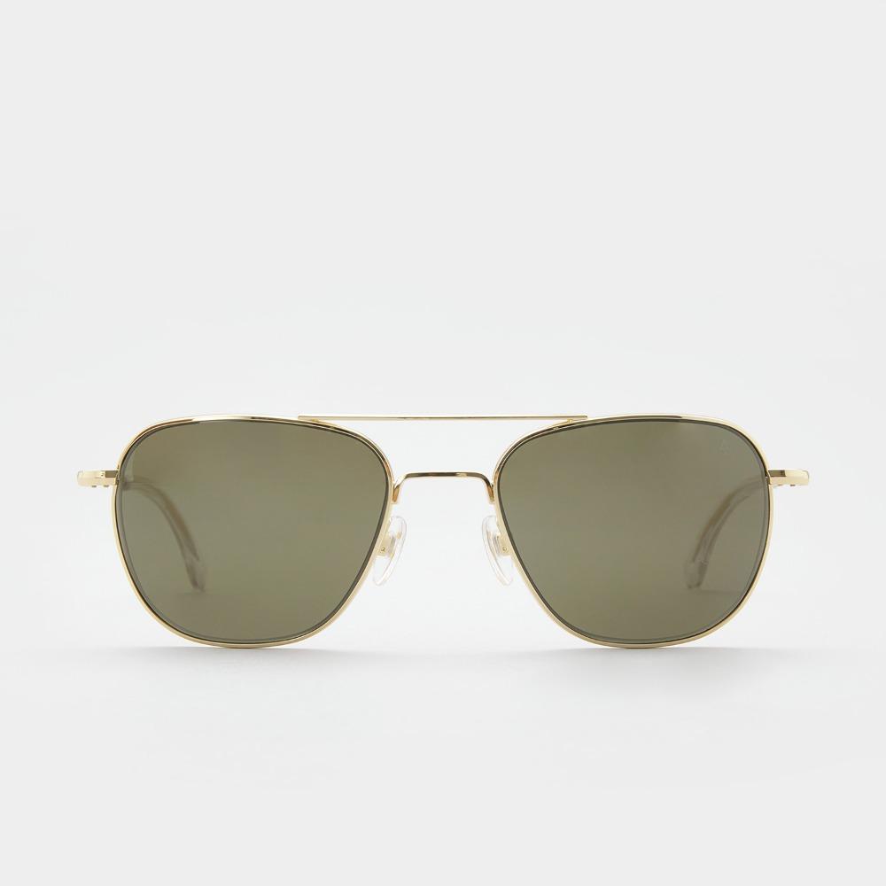 아메리칸옵티컬 선글라스 오리지널 파일럿 Original Pilot GOLD (Green Lens) (55) American Optical