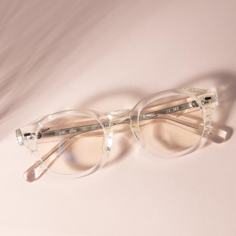 페이크미 팸 투명 뿔테 안경 Pam CLW