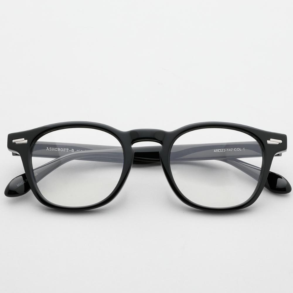 애쉬크로프트 긴즈버그 글로시블랙 2020 48사이즈 C1 남자 안경