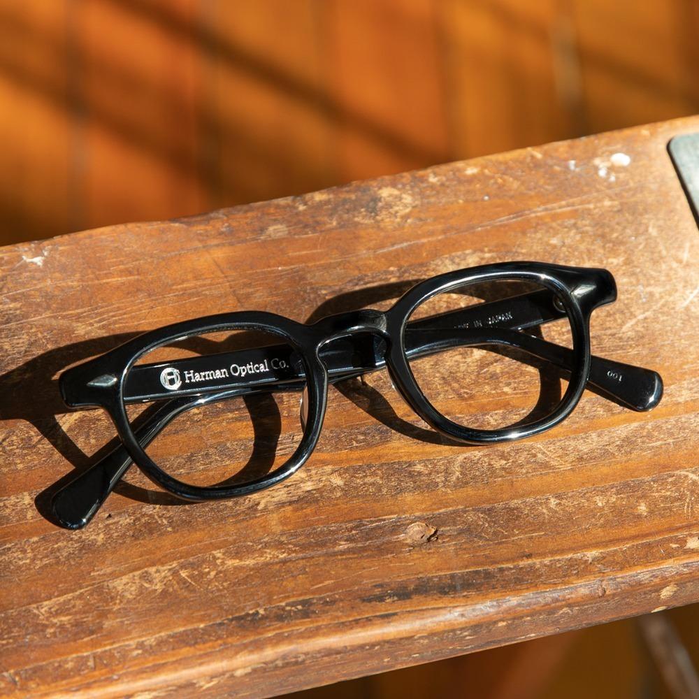 하만옵티컬 안경 월리스 WALLIS BLACK 44사이즈 셀룰로이드 HARMAN OPTICAL