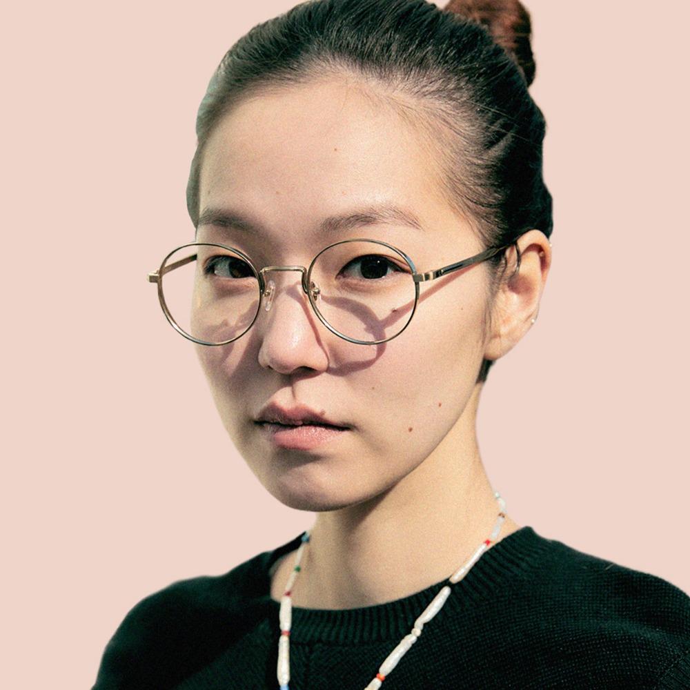 페이크미 안경 코지 GLD 골드 메탈 티타늄 블루라이트차단안경