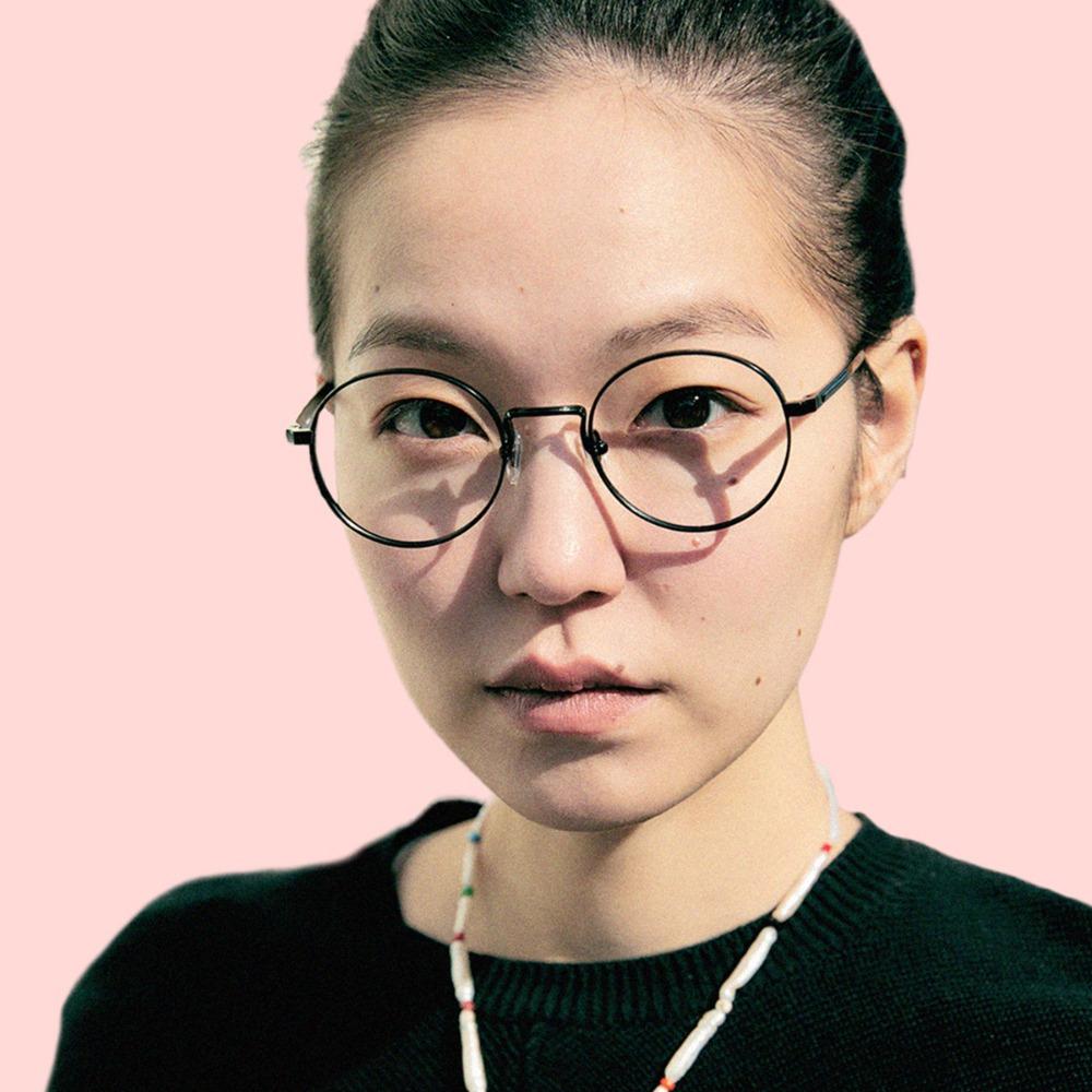 페이크미 안경 코지 MBK 블랙 메탈 티타늄 블루라이트차단안경
