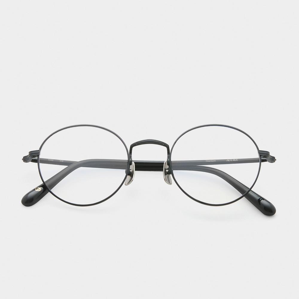 어크루 안경 오지 MB 원형 메탈 티타늄 안경테