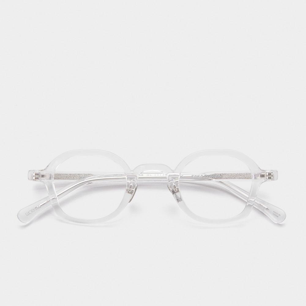 진저아이웨어 안경 워커즈 베이커 볼드 CLEAR 가벼운 투명 안경테 GINGER EYEWEAR
