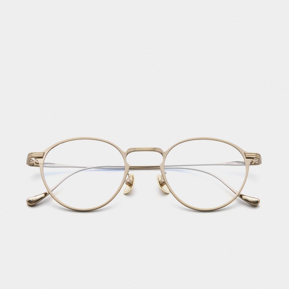 어크루 안경 믹 ATBR 원형 메탈 티타늄 안경테