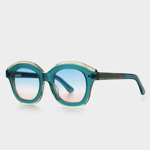 [하이칼라선글라스] 더블버블 DOUBLED BUBBLED C3 (Blue Pink Tint Lens) 블루핑크틴트렌즈 색안경 (Highcollar)