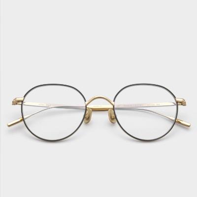 페이크미 안경 사이트 BGD 블루라이트차단안경 라운드 베타 티타늄 메탈테