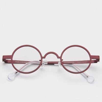 진저아이웨어 워커즈 문 TERRACOTTA 여자 동글이 메탈 안경