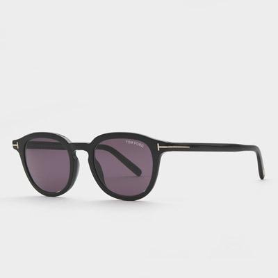 톰포드 Pax TF816 01A 여자 블랙 뿔테 남자 사각 선글라스
