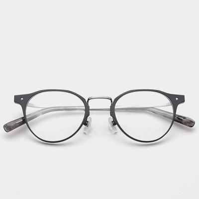애쉬크로프트 안경 글래튼 Glatten GL001 C1 Black Silver 베타티타늄 안경테