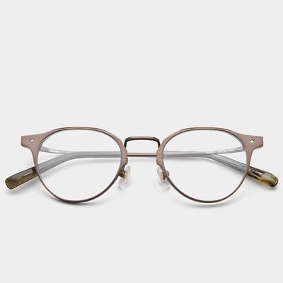 애쉬크로프트 안경 글래튼 Glatten GL001 C2 Glossy Brown 베타티타늄 안경테