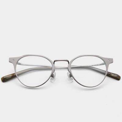 애쉬크로프트 안경 글래튼 Glatten GL001 C3 Silver 베타티타늄 안경테