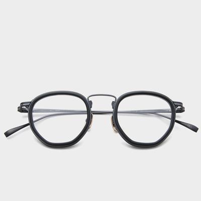 가네코옵티컬 금자안경 KJ60 MBK 퓨어 티타늄 안경 KANEKO OPTICAL