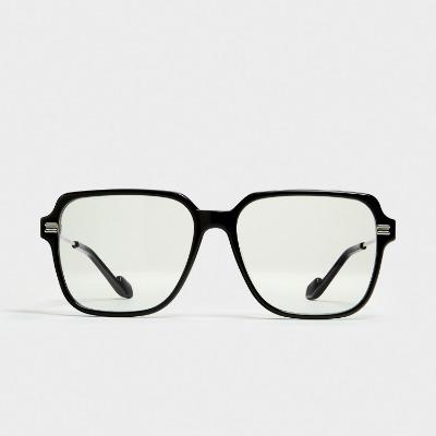 젠틀몬스터 제프 01 GR 사각 뿔테 선글라스