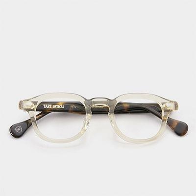타르트옵티컬 안경 ARH A28 옐로우 크리스탈 + 데미브라운 44사이즈 10주년 기념 모델