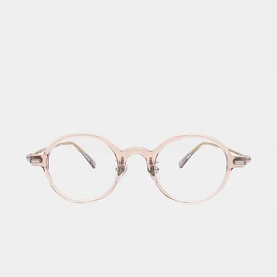 래쉬 안경 파인 L-TYPE PINE C3 45사이즈 남자 여자 원형 뿔테 안경테