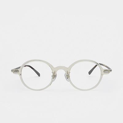 래쉬 안경 파인 L-TYPE PINE C4 45사이즈 남자 여자 원형 뿔테 안경테