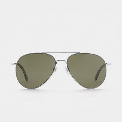 아메리칸옵티컬 선글라스 제너럴 General SILVER (Green Lens) (58) American Optical 예약중