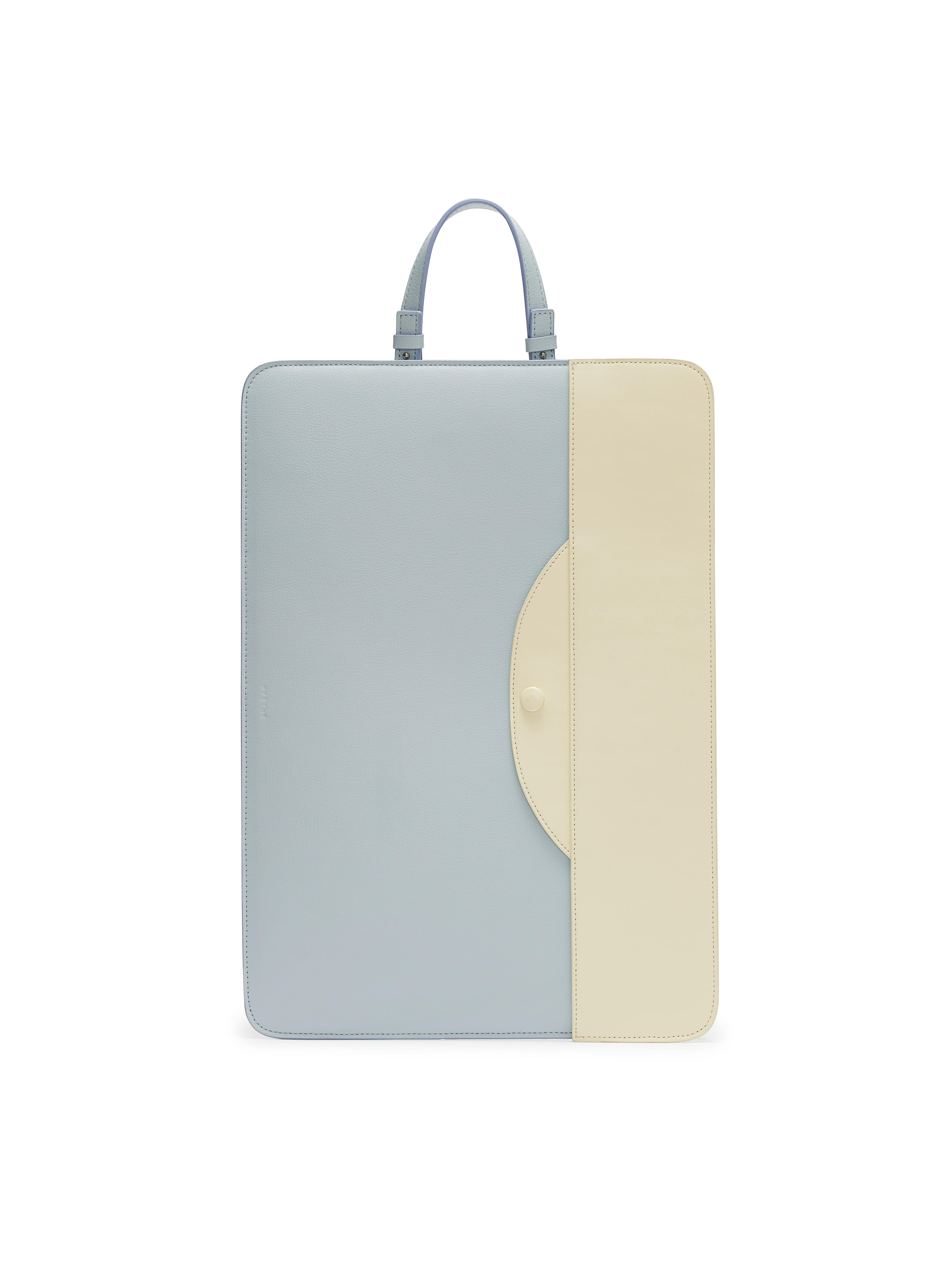[SUSTAINABLE EXCLUSIVE] [15인치] LAPTOP ECO POUCH BAG_SKY BLUE & CREAM
