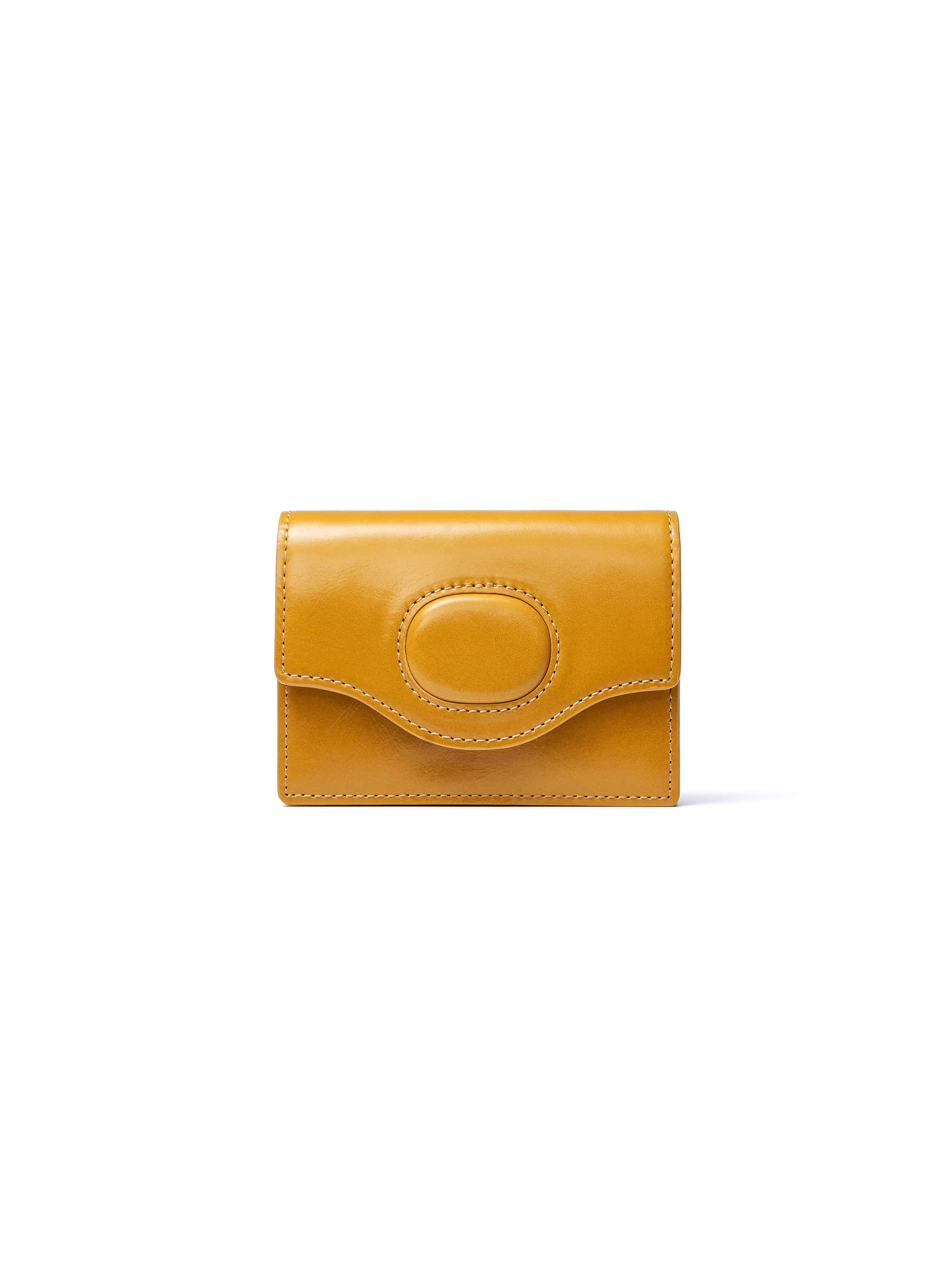 [NEW SEASON] EGGSHELL CARD WALLET_MUSTARD [9/16일 순차배송]