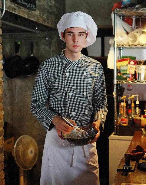 Chef Star Hat #AH1569 White