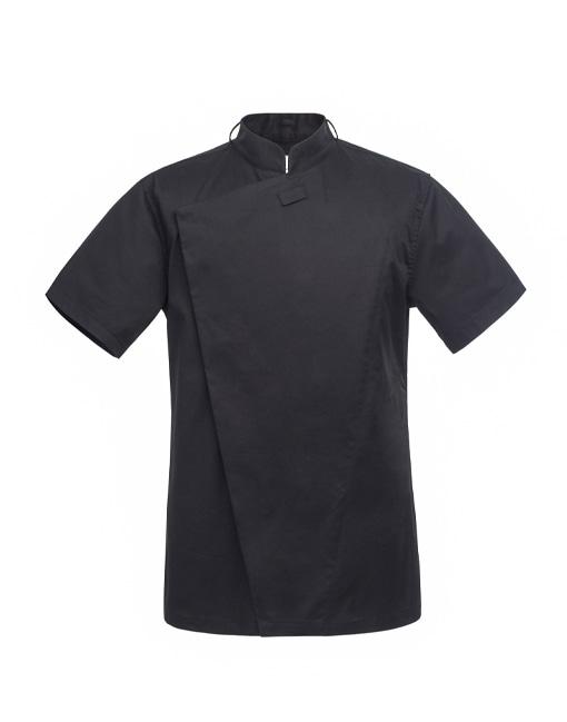 Slim 1/2 Chef Jacket black #AJ1555
