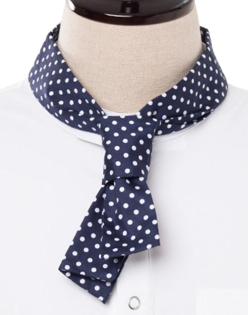 classic chef dot scarf #AA1786