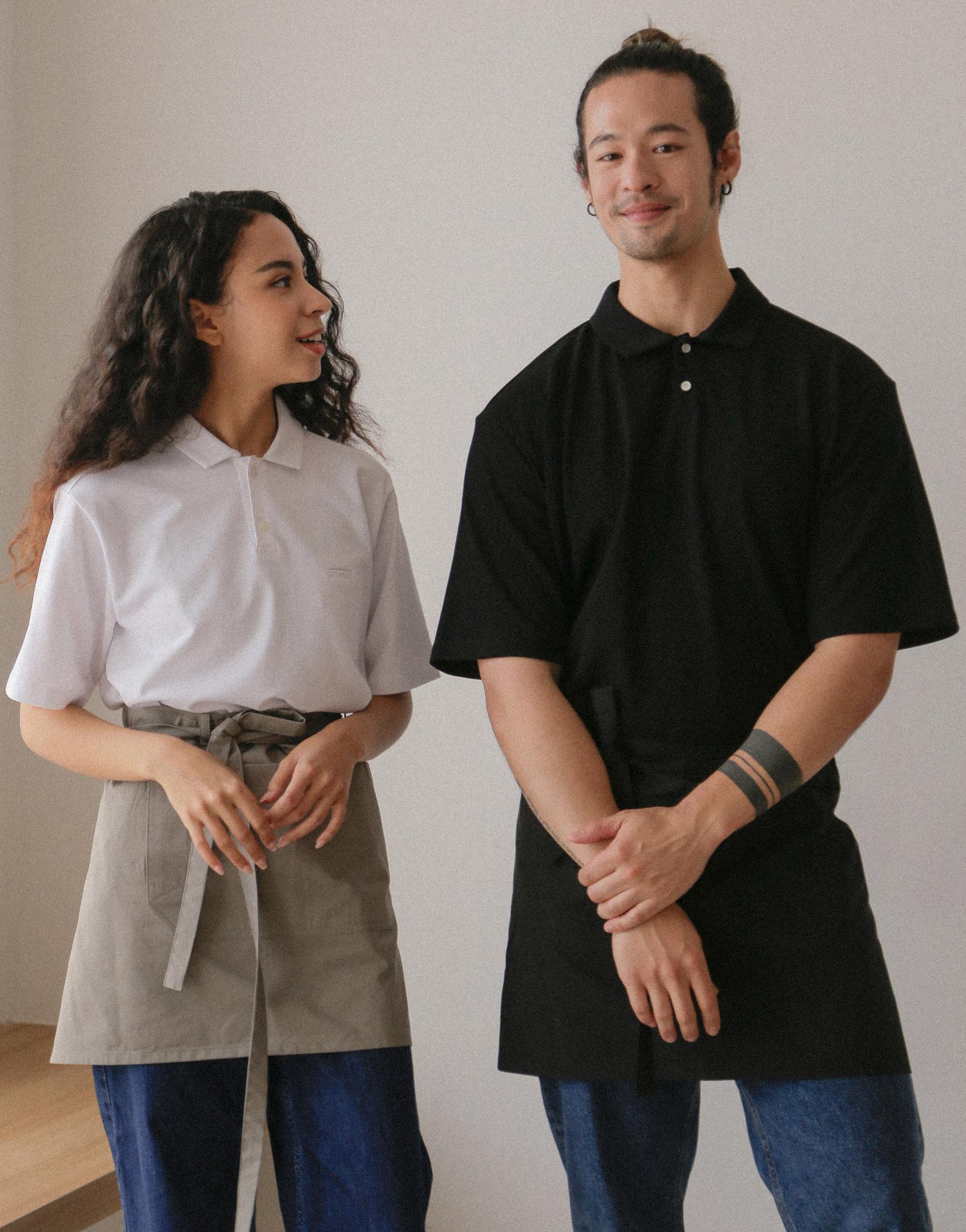 "Roof belt waist apron 16 ½"" #AA2006 Black"