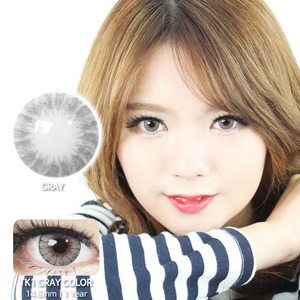 TK1 GREY colored contacts