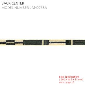 BACK CENTER M-0973A
