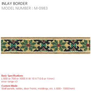 INLAY BORDER M-0983