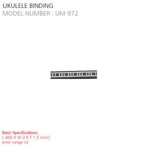 UKULELE BINDING UM-972
