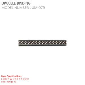 UKULELE BINDING UM-979